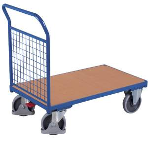 Wózek z 1 burtą z siatki