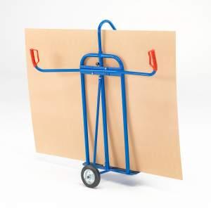 Wózek na towary o dużej powierzchni płaskiej