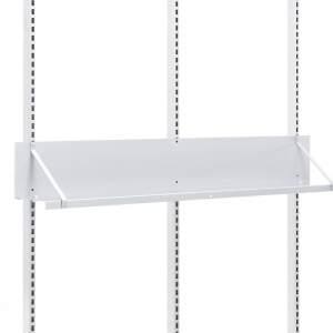 Prosta półka stalowa do stołu MOTION 200x1490x200 mm