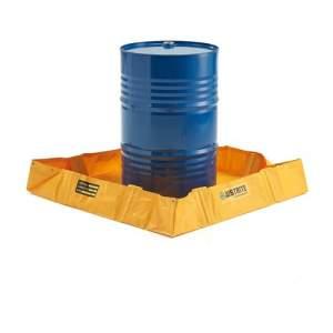 Przenośna wanna ociekowa, 299 litrów, żółty