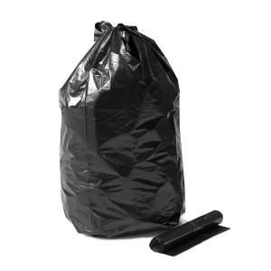 Worek na odpady, 15 rolek (10 szt./rolka), 125 L