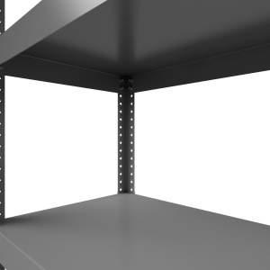 Regał półkowy metalowy Hard Metal 220x100x50 6P 1350 kg