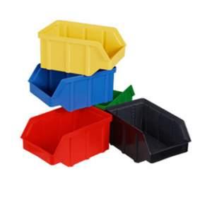 Plastikowy pojemnik warsztatowy - wym. 118 x 78 x 56 - różne kolory