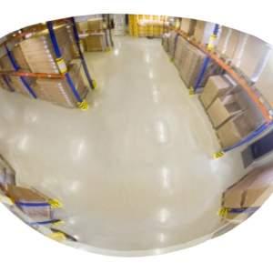Lustro przemysłowe, panoramiczne EUvex - akrylowe, 1/4 kuli - różne rozmiary