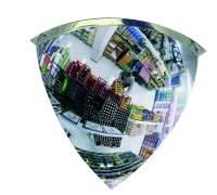 Lustro przemysłowe, panoramiczne EUvex - akrylowe, 1/8 kuli - różne rozmiary