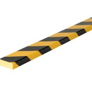 Osłona poliuretanowa powierzchni, profil elastyczny typ D - różne długości