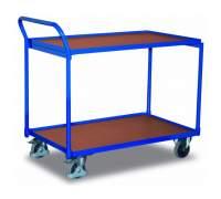 Wózek stołowy z dwiema półkami