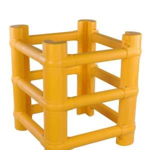Modułowa osłona polietylenowa kolumny o wymiarach od 200 do 700 mm