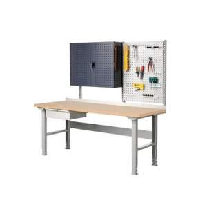 Stół roboczy Robust, 300 kg, 2000x800 mm, płyta HDF