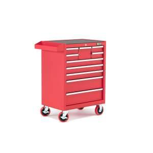 Wózek warsztatowy, 10 szuflad, 960x785x460 mm