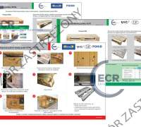 Komplet Kart Oceny Palet EPAL, EUR - rozmiar 990 x 660 mm