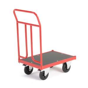 Wózek platformowy, 1 rama, 400 kg, 500x700 mm, z hamulcami
