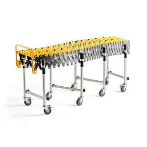 Przenośnik rolkowy COURSE z nylonowymi rolkami - długość regulowana: 1136-3360 mm