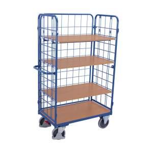 Wysoki wózek siatkowy do komisjonowania