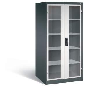 Szafa warsztatowa metalowa XXL z przeszklonymi drzwiami