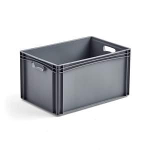 Pojemnik plastikowy AJ EURO, 62 L, 600x400x320 mm