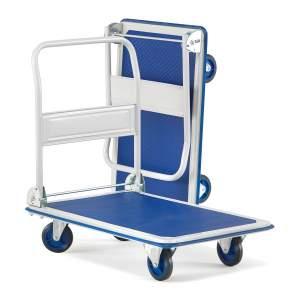Stabilny składany wózek transportowy do 300kg
