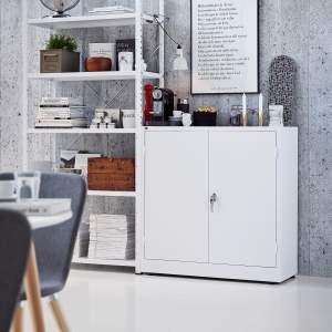Szafa Style 2 półki 1000x1000x400 mm biały biały