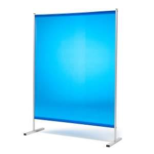 Niebieskie kurtyny spawalnicze bez kółek 1450x1940mm