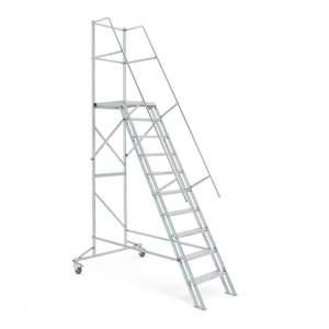 Drabina platformowa - różne wysokości