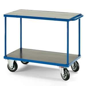 Wózek platformowy - platforma: 1000x700mm z hamulcem lub bez