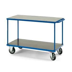 Wózek platformowy - platforma 1200x800mm z hamulcem lub bez