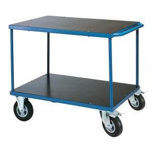 Wózek platformowy platforma: 1000x700 mm - opcjonalny hamulec