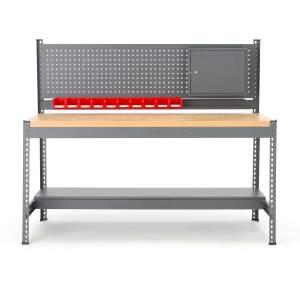 Stół roboczy - zestaw - wymiary: W 1530 x S 1840 x G 775 mm.