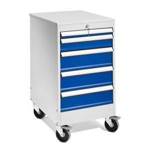 Podwieszane szafki z 5 szufladami - wysokość:960 mm
