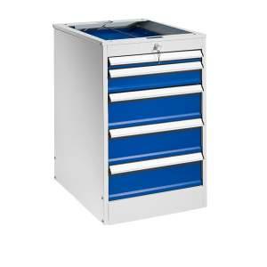 Podwieszane szafki z 5 szufladami - wysokość: 800 mm
