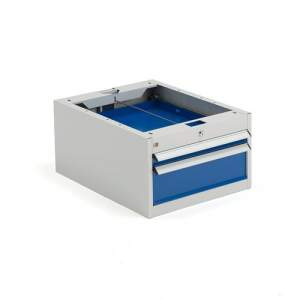 Podwieszane szafki z 2 szufladami - wysokość: 330 mm