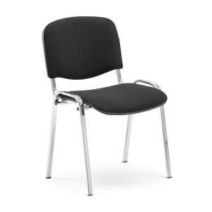 Krzesło konferencyjne Nelson - czarny chrom