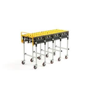 Transporter rolkowy rolki nylonowe 1185x4250 mm