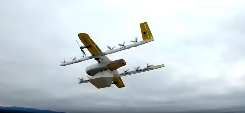 Dron transportowy firmy Wing; źródło: materiały Wing